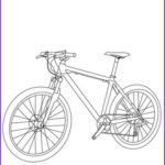 Bike Coloring Pages Luxury Photos Mountain Bike Coloring Pages Hellokids