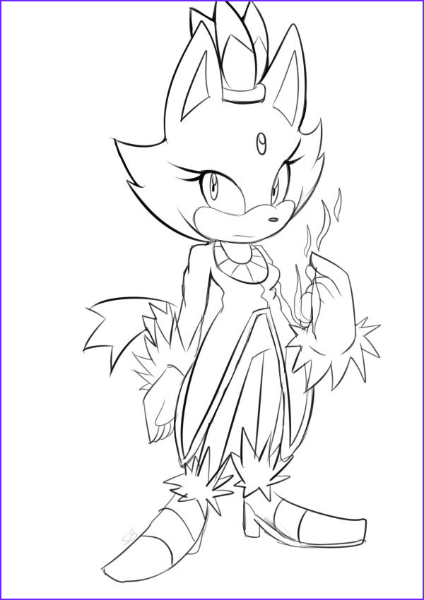 Blaze Coloring Book Awesome Collection Blaze the Cat Coloring Pages Coloring Home