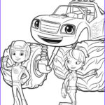 Blaze Coloring Book Awesome Photos top 31 Blaze and the Monster Machines Coloring Pages