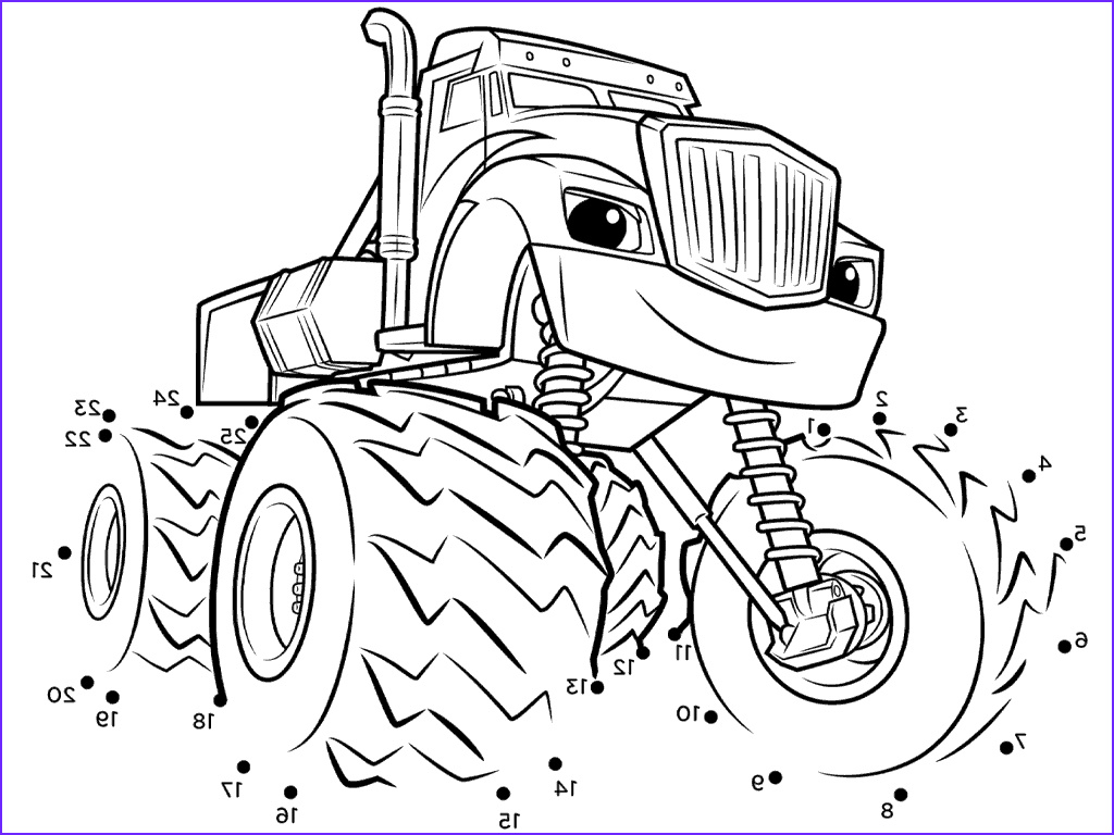 Blaze Coloring Book Luxury Photos Blaze Coloring Pages to Print Gallery