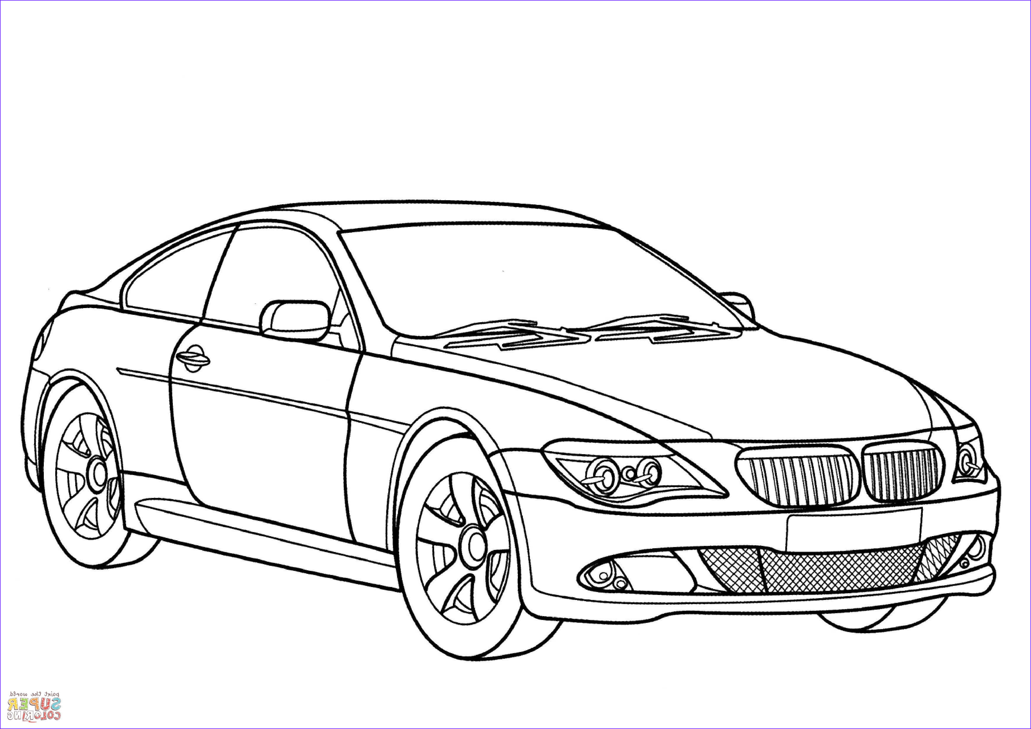 Bmw Coloring Pages Luxury Collection Bmw 6 Series Coloring Page