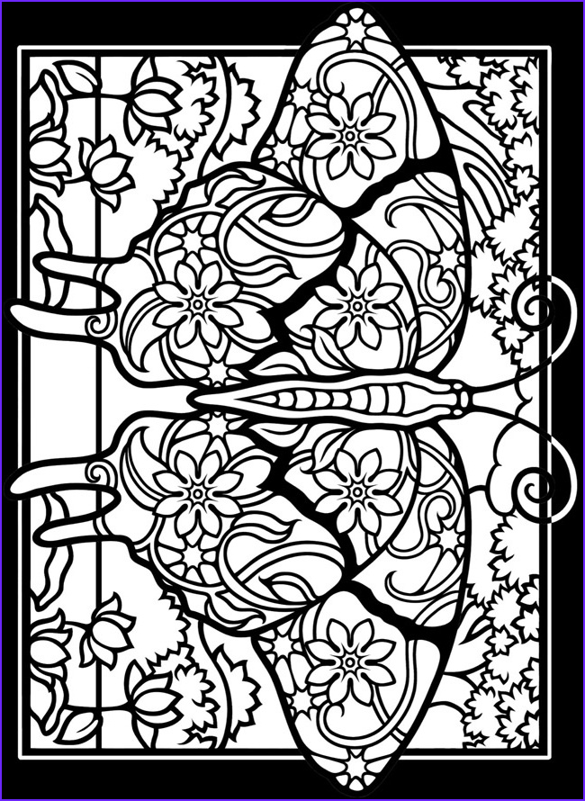 Stained Glass Window Coloring Pages AZ Coloring Pages
