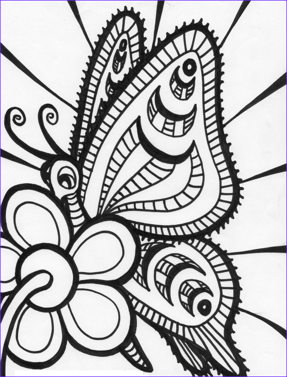 Butterfly Coloring Book for Adults Luxury Photos Free Printable butterfly Coloring Pages for Kids