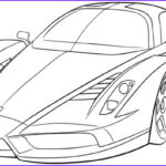 Car Coloring Awesome Gallery Ferrari Sport Car High Speed Coloring Page Ferrari Car