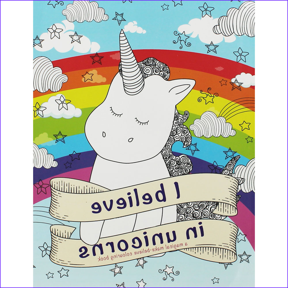 Children's Coloring Books New Photography Magical Unicorn Colouring Book Paperback Children S