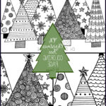 "Christmas Tree Coloring Beautiful Stock ""oh Christmas Tree"" Coloring Page U Create"