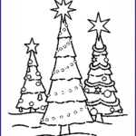 Christmas Tree Coloring Best Of Photography Free Printable Christmas Tree Coloring Pages For Kids