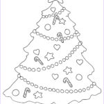 Christmas Tree Coloring New Photography Christmas Coloring Pages