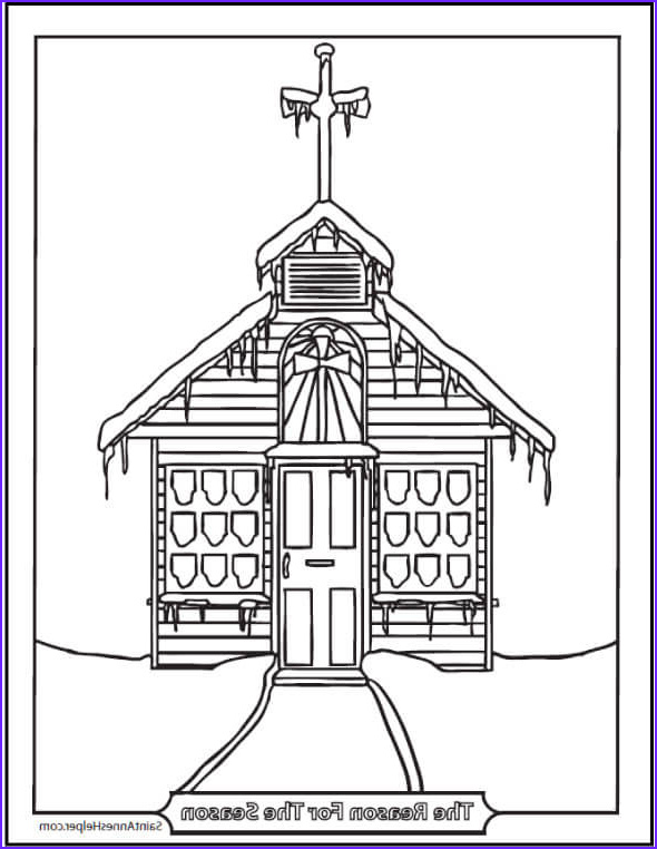 Church Coloring Pages Beautiful Photos 15 Printable Christmas Coloring Pages Jesus & Mary