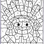 Color By Number Coloring Pages Free Beautiful Photos Free Printable Color By Number Coloring Pages Best