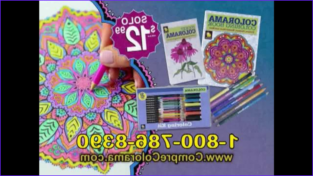 Colorama Coloring Book Commercial Awesome Photos Colorama Books Tv Spot Actividad Relajante [spanish