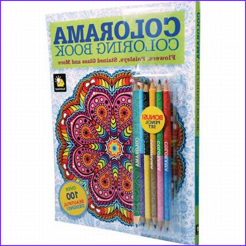 Colorama Coloring Book Commercial Luxury Photos Colorama Flowers & Paisleys Coloring Book with Bonus