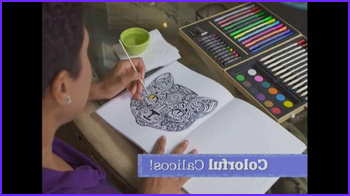 Colorama Coloring Book Commercial New Stock Colorama Books Tv Mercial Beautiful and Relaxing