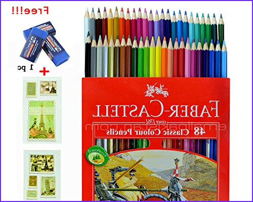Galleon Colored Pencil Faber Castell 48 Color Best