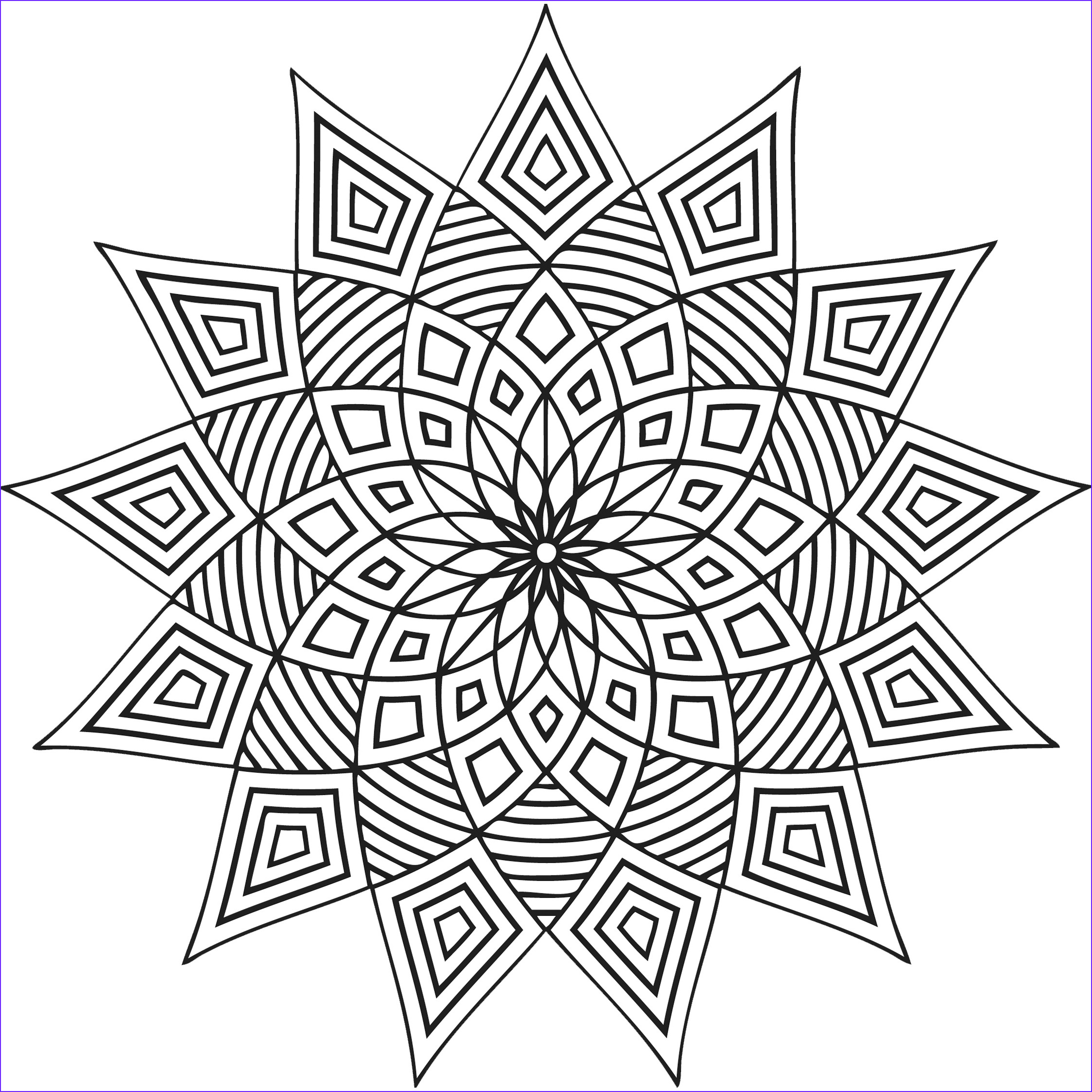 Coloring Design Pages Best Of Image Free Printable Geometric Coloring Pages for Kids