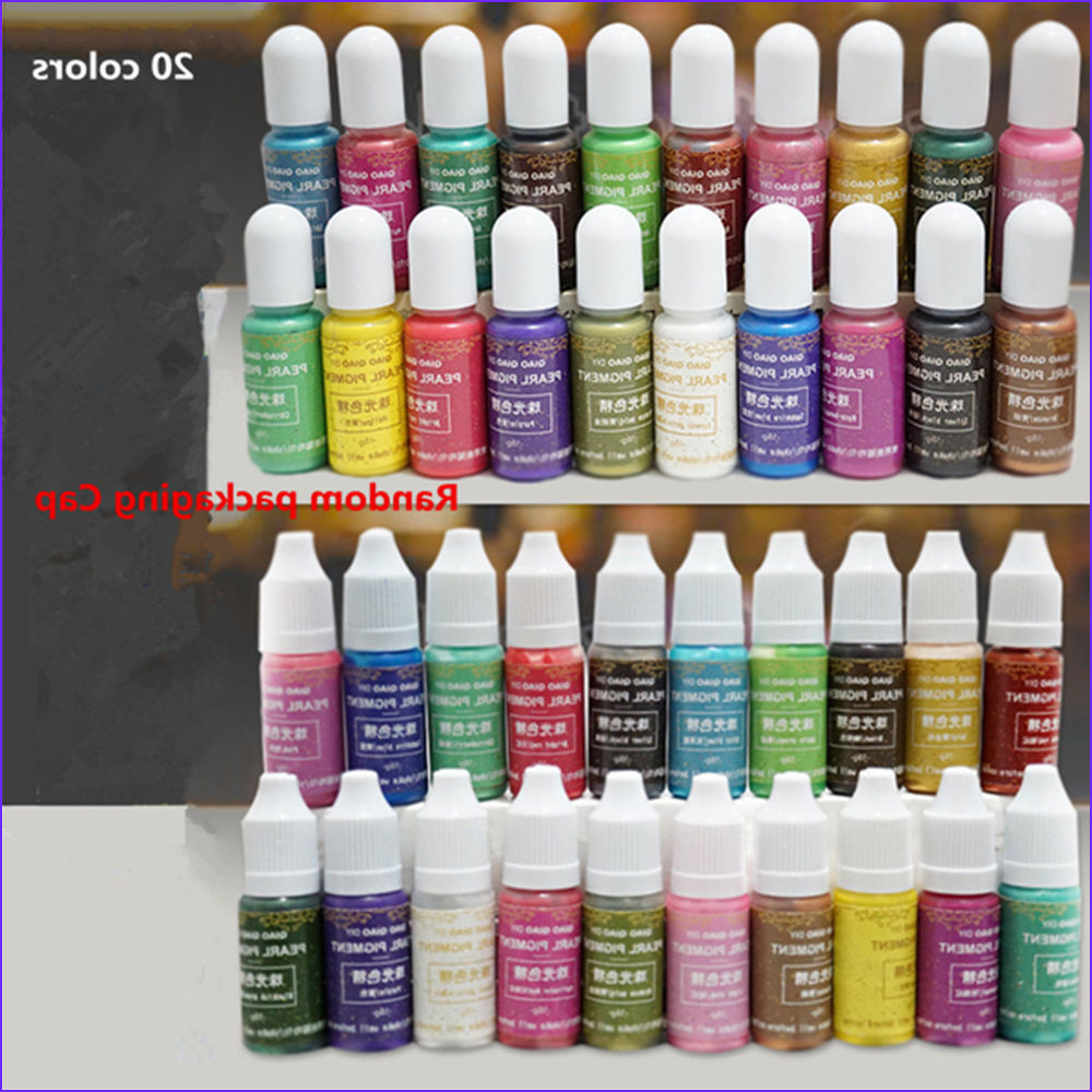 Coloring Epoxy Elegant Photos 15 Colors Pearly Lustre Pigment Epoxy Uv Resin Coloring