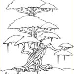 Coloring Images Awesome Photos Free Printable Tree Coloring Pages For Kids