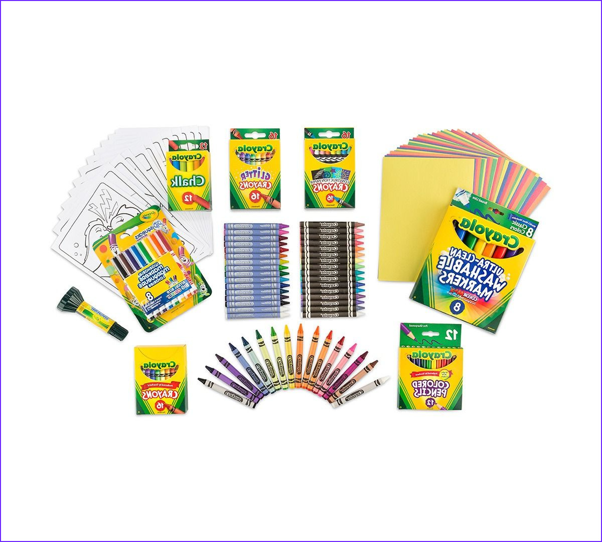 Super Art Coloring Kit Over 100 Art Supplies