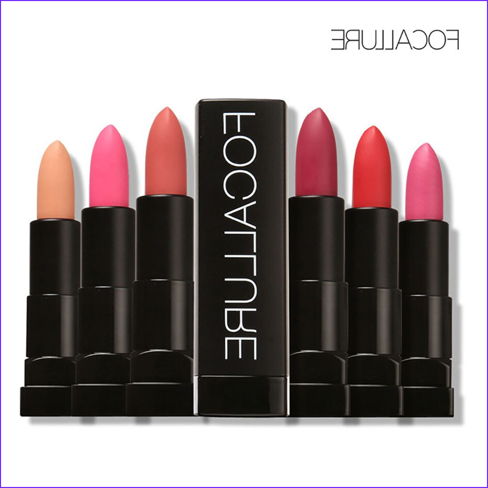 Coloring Lipstick Awesome Photos Focallure 12 Hot Matte Colors Lipstick Long Lasting