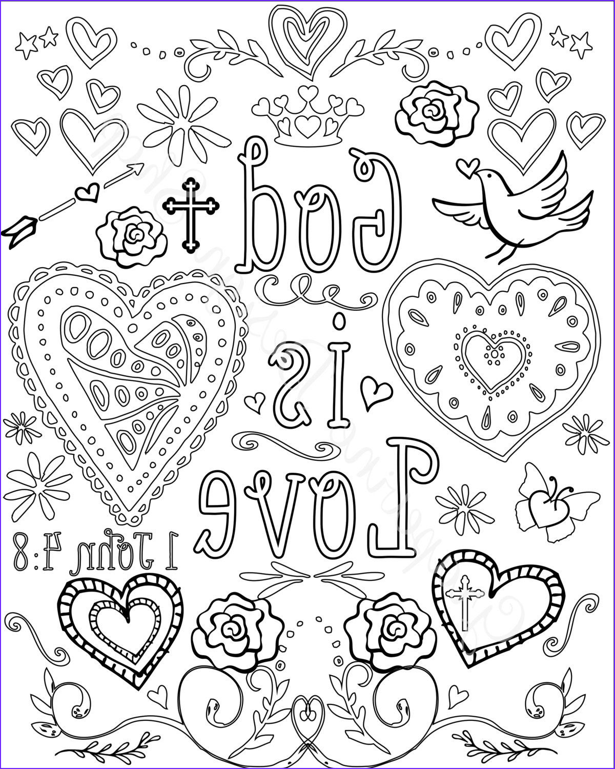 Coloring Pages Bible Awesome Photos Bible Verse Coloring Pages Set Of 5 Instant