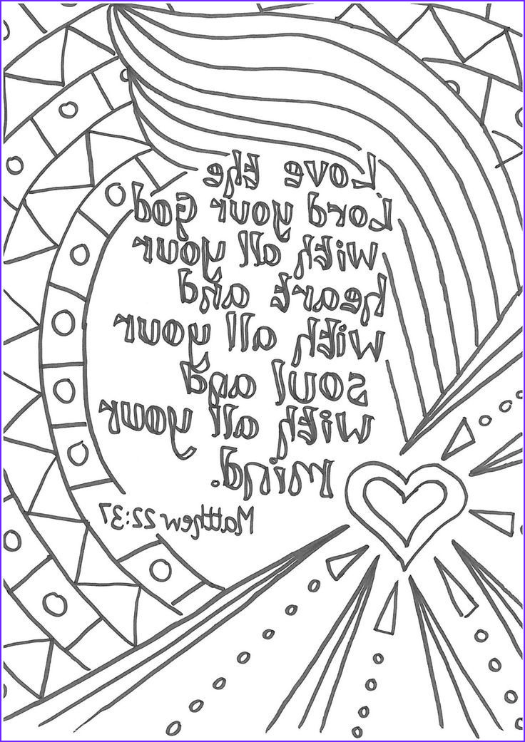 Coloring Pages Bible Cool Photos Bible Verse Coloring Pages