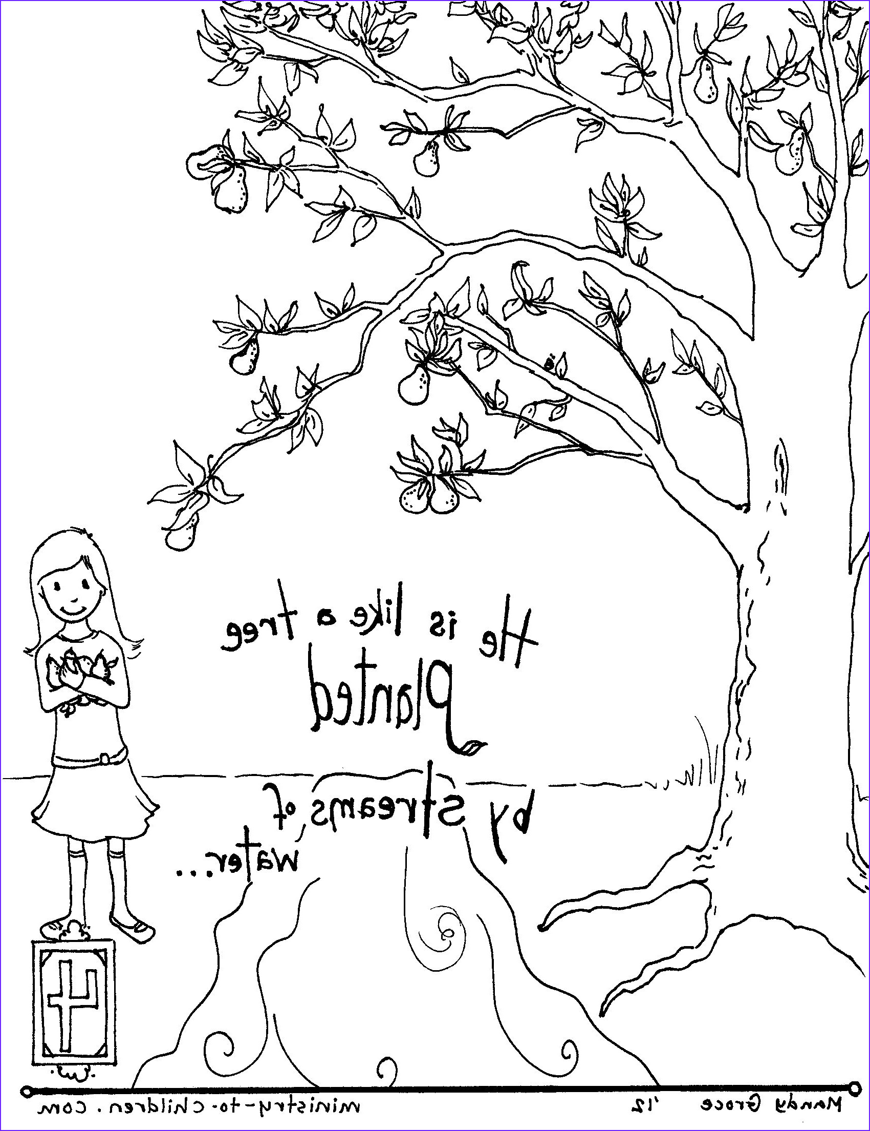 Coloring Pages Bible Luxury Images Psalm 100 Coloring Page Drawings Art Gallery