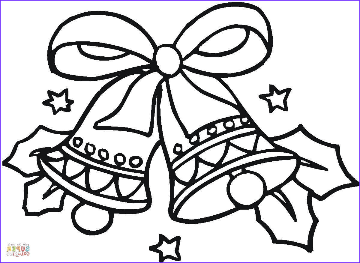 Coloring Pages Christmas Beautiful Images Christmas Bells Coloring Page