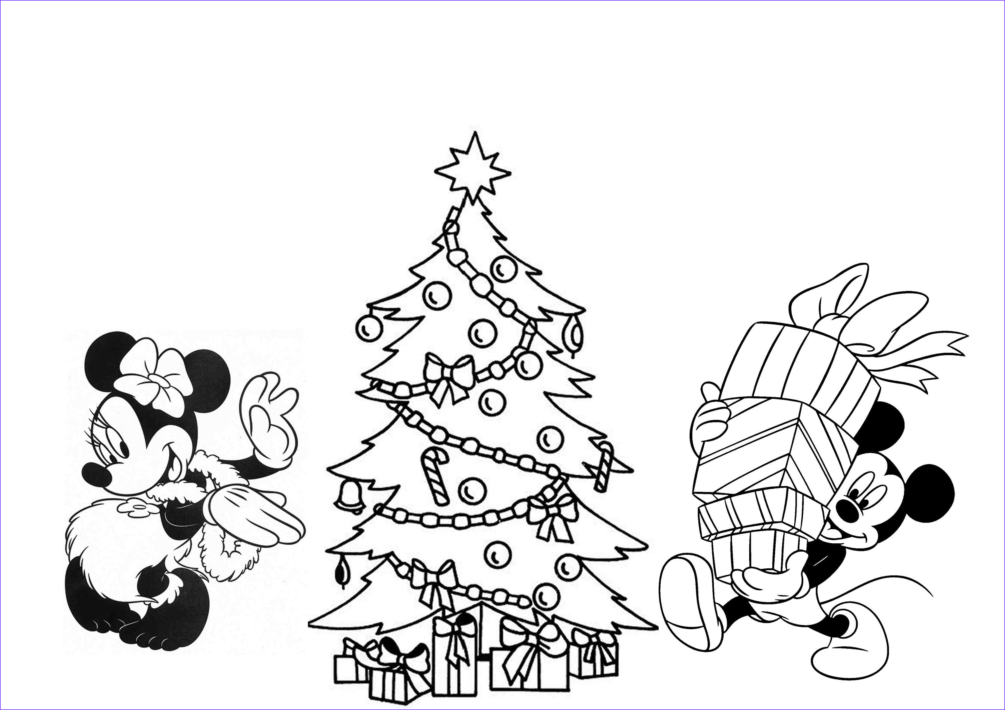 Print & Download Printable Christmas Coloring Pages for Kids