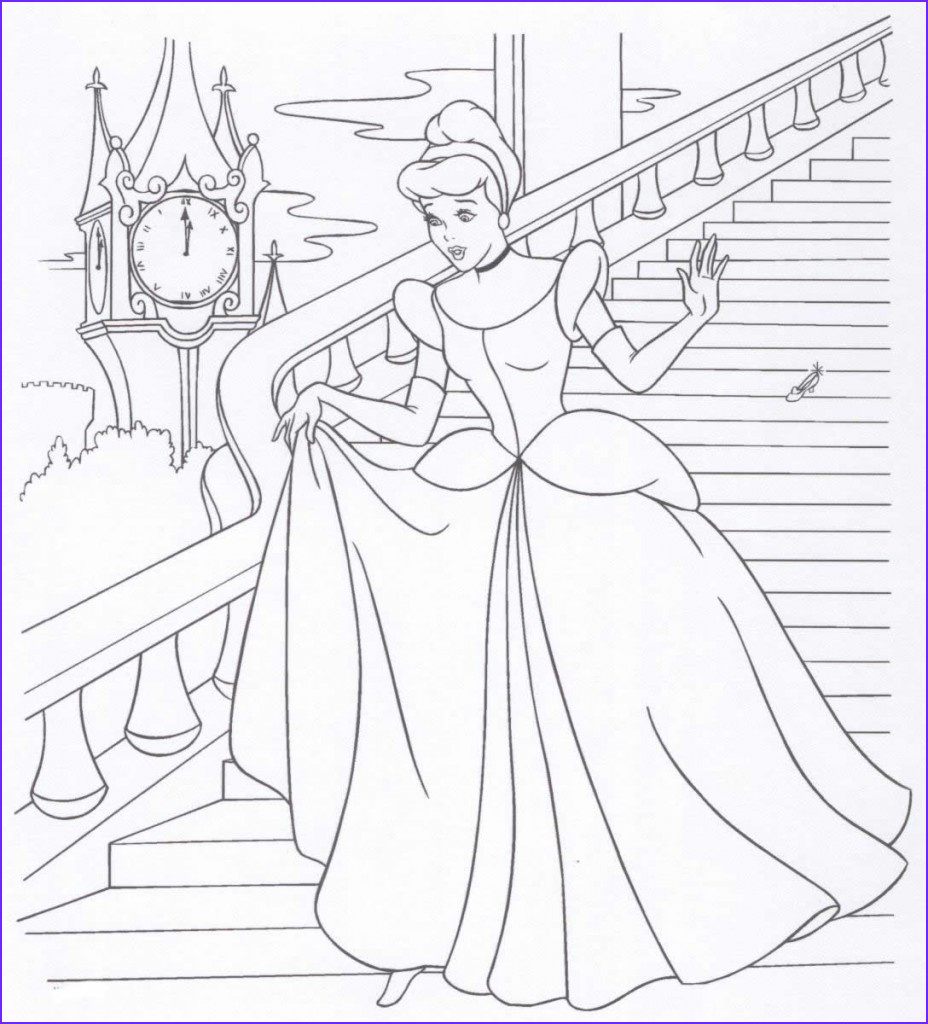 Coloring Pages Disney Beautiful Collection Free Printable Disney Princess Coloring Pages for Kids