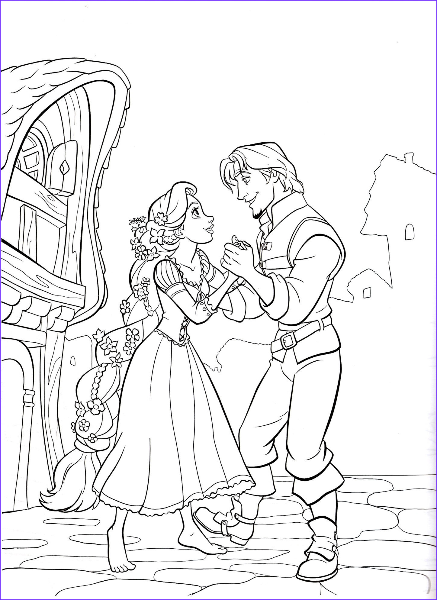 Coloring Pages Disney Best Of Collection Rapunzel Coloring Pages Best Coloring Pages for Kids