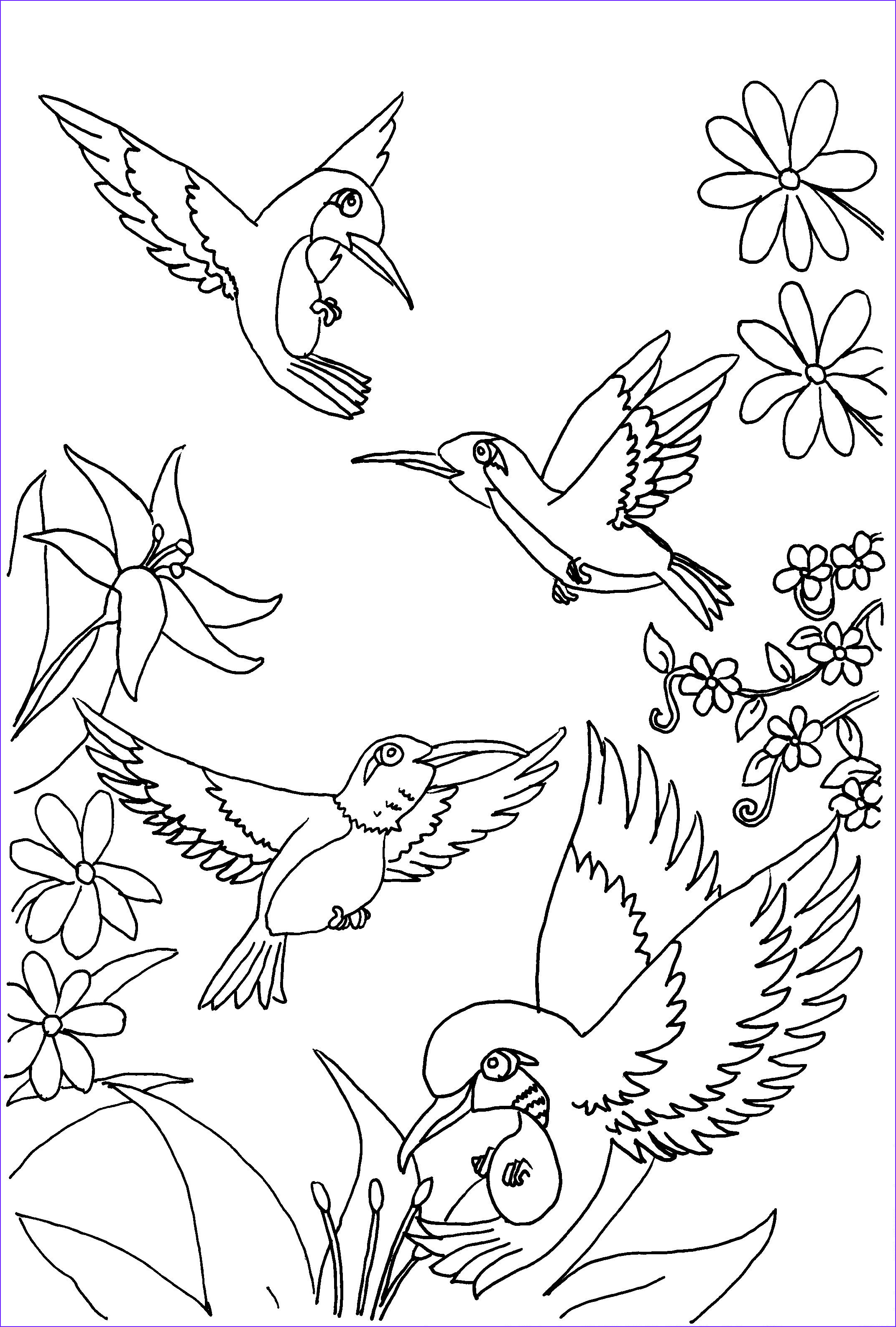 14 Beautiful Coloring Pages for Kids Free Photos | Coloring ...