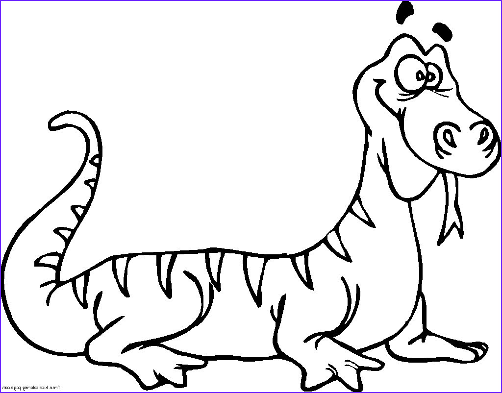 print out coloring pages for kids wacky lizard