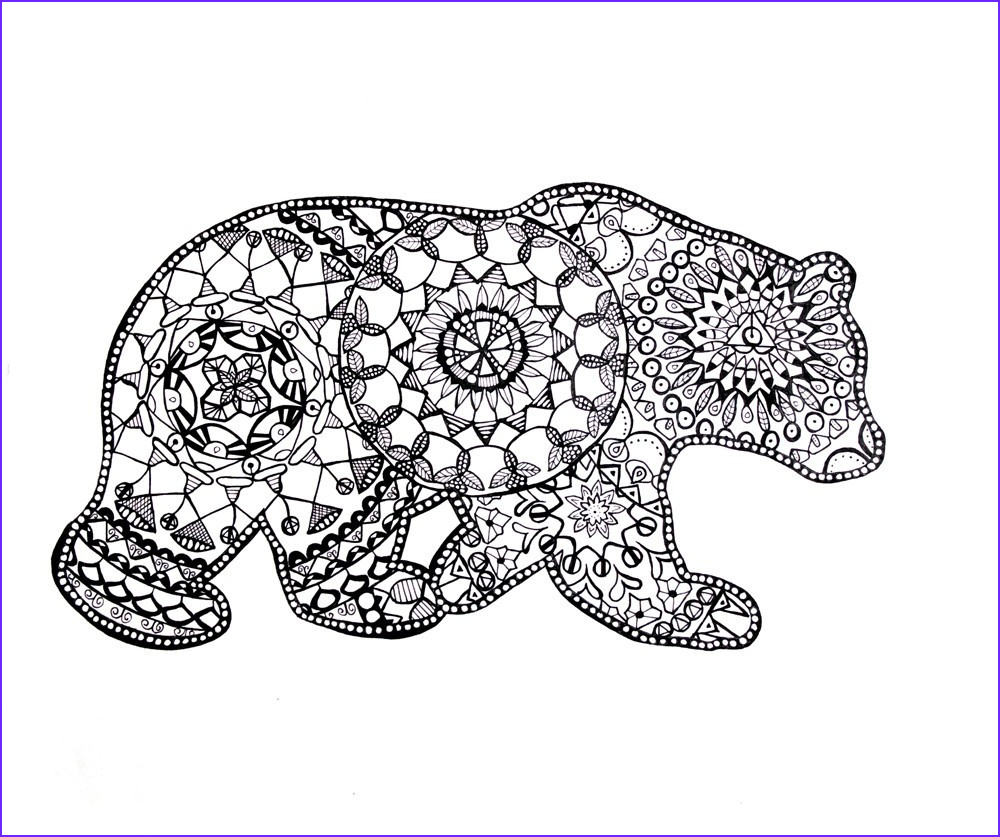 Coloring Pages Of Animals Awesome Photos Adult Coloring Pages Animals Best Coloring Pages for Kids
