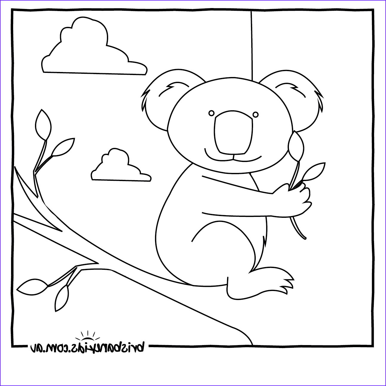 Coloring Pages Of Animals Best Of Collection Australian Animals Colouring Pages • Brisbane Kids