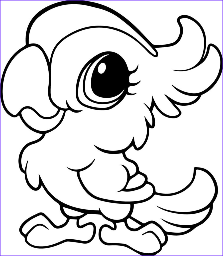 Coloring Pages Of Animals Cool Photos Cute Animal Coloring Pages Best Coloring Pages for Kids