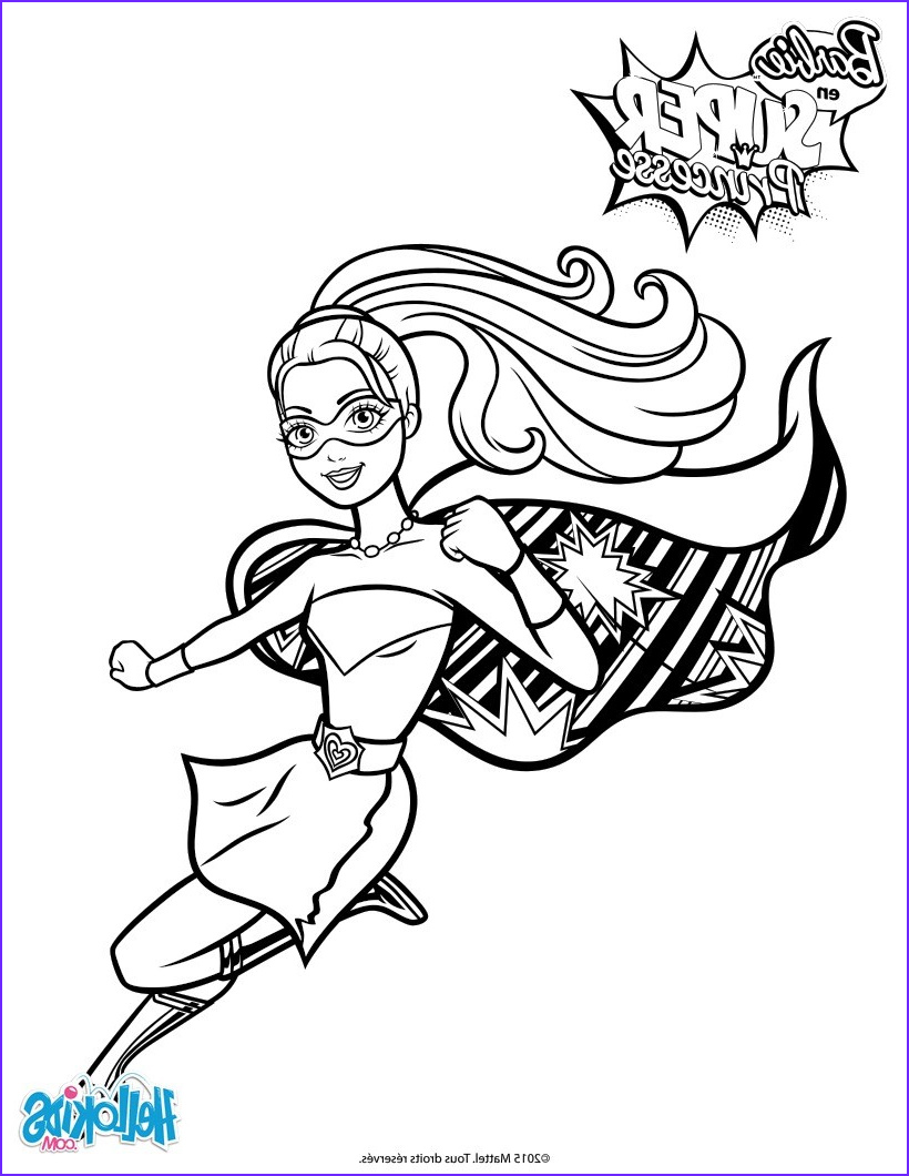 Coloring Pages Of Barbie Awesome Photos Barbie Super Power Saves The Day Coloring Pages