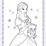 Coloring Pages Of Barbie New Stock Barbie Coloring Pages For Girls
