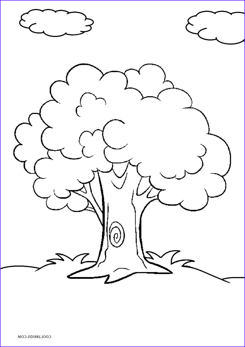 Coloring Pags Luxury Photos Free Printable Tree Coloring Pages for Kids