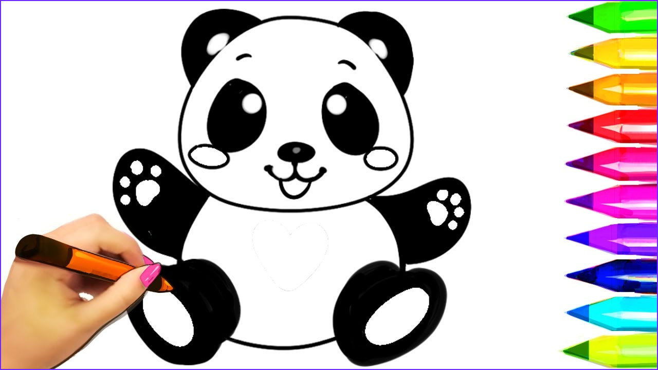 15 Beautiful Coloring Panda Gallery | Coloring Page for Kids