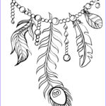 Coloring Peacock Feathers New Collection Feather Coloring Pages