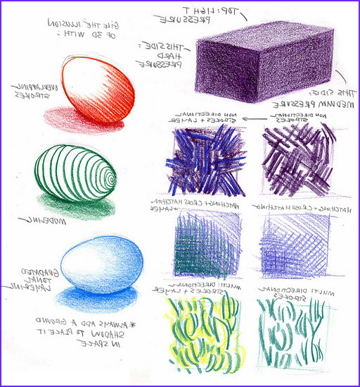 basic colored pencils for architecture rendering