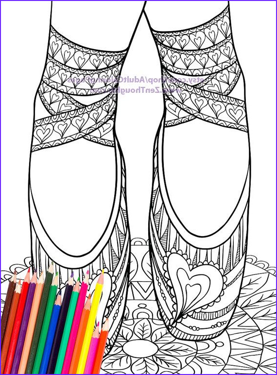 Coloring Pointe Shoes New Photos 94 Best Images About Ballet On Pinterest