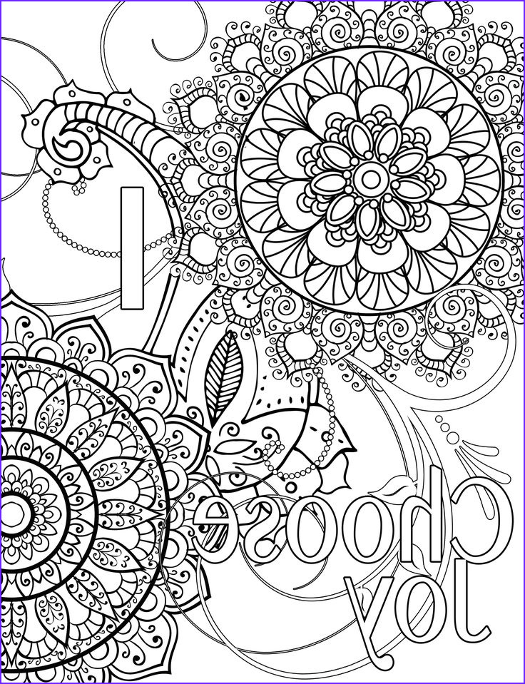 Coloring Quotes Beautiful Photos Words Coloring Page I Choose Joy …