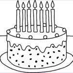 Coloring Sheets For Toddlers Best Of Gallery Preschool Birthday Cake Coloring Pages