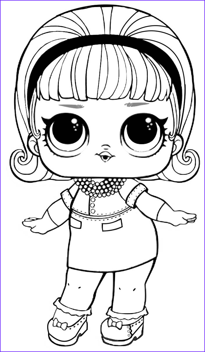 Coloring Sheets Unique Collection Lol Surprise Coloring Pages to and Print for Free