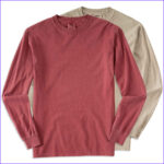 Coloring Shirts Best Of Image Custom Fort Colors Cotton Long Sleeve Shirt