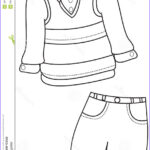 Coloring Shirts Luxury Photos Clothing Coloring Pages