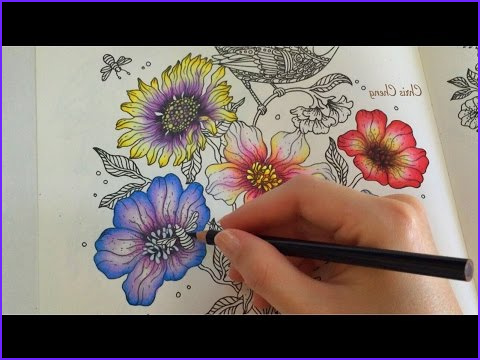 Coloring Techniques Beautiful Photos Spring Flower 5 5 Daydreams Coloring Book