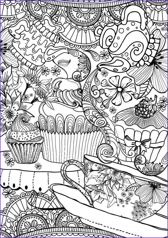 color art therapy food and drinks