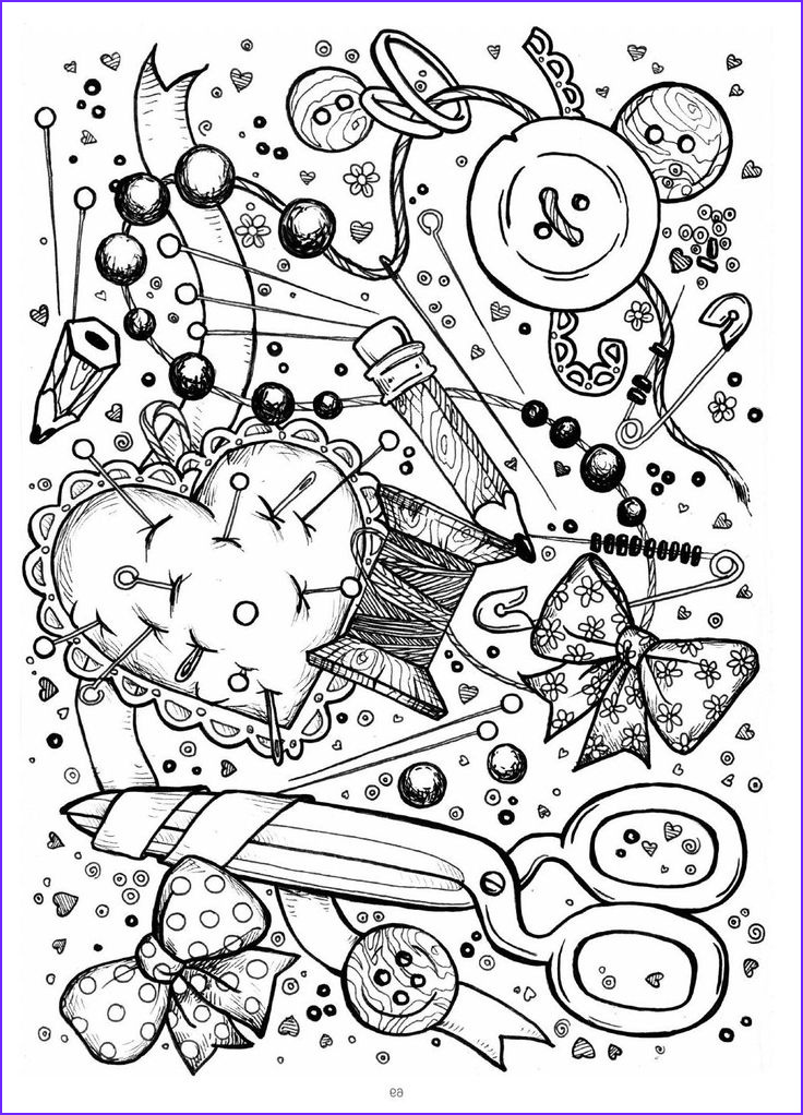 coloring pages art terapy